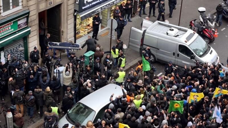 asesinato de activistas kurdas en Francia