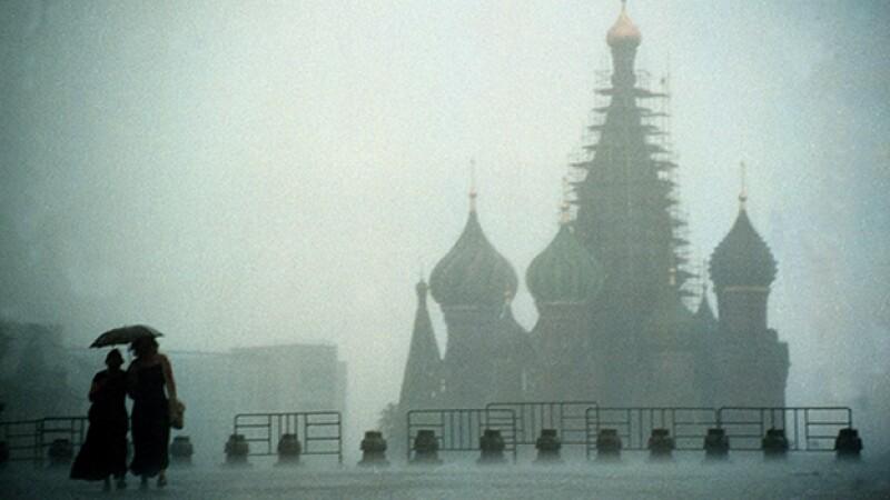 moscú lluvias rusia