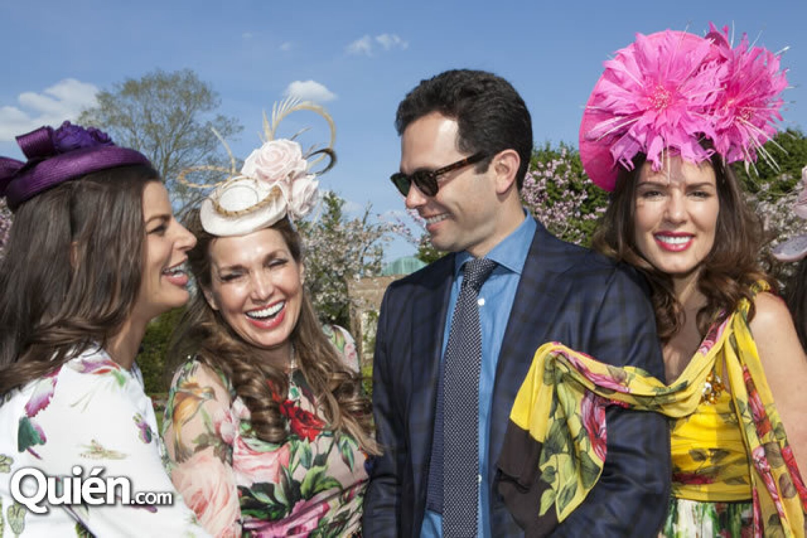 Bárbara Coppel, Sonia Falcone, Alejandro Hank y Christina Estrada