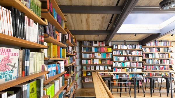 Cauz Foro Librería, a detalle