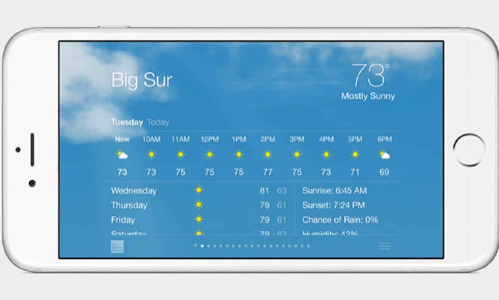 Ésta es el nuevo iPhone 6 Plus de Apple.