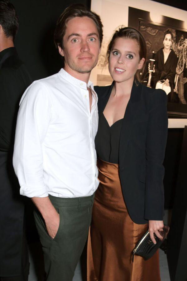 Princesa Beatriz y Edoardo M