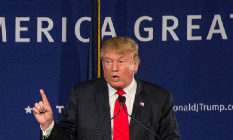 El magnate y precandidato presidencial criticó la postura de Obama frente al tema del terrorismo. (Foto: Getty Images)