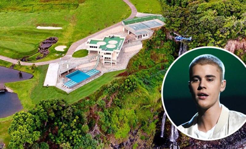 El cantante rentará esta mansión de 6.8 millones de dólares en la paradisiaca isla en la que planea quedarse dos semanas.