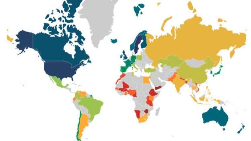 uso de internet pais mundo
