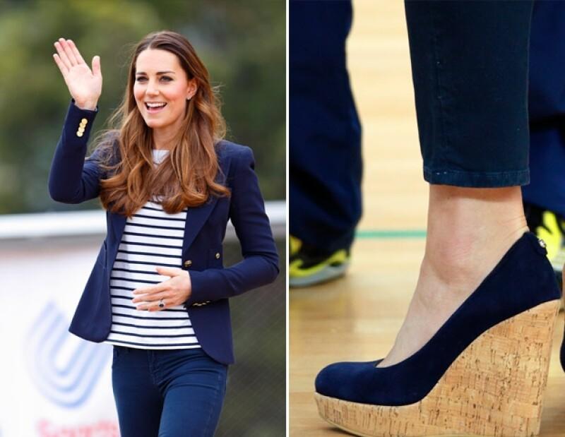 Durante el verano, la Duquesa utilizó mucho este calzado.