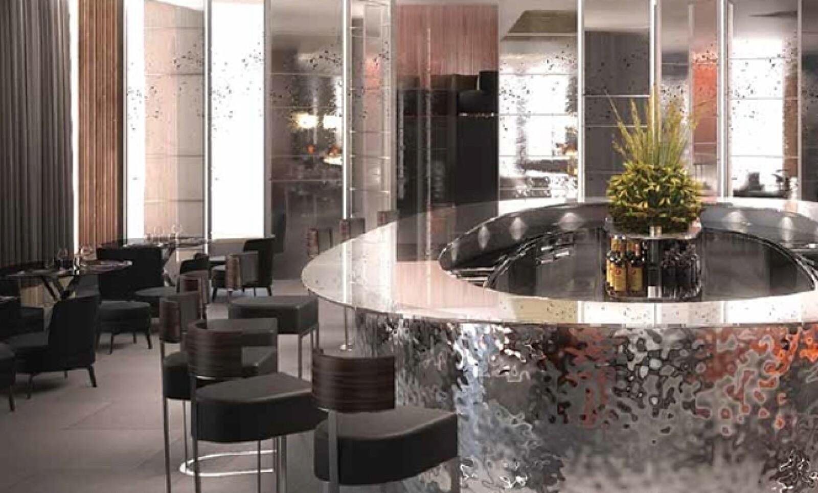Este resort fue construido en la zona de Knightsbridge, una de las más exclusivas de Londres.