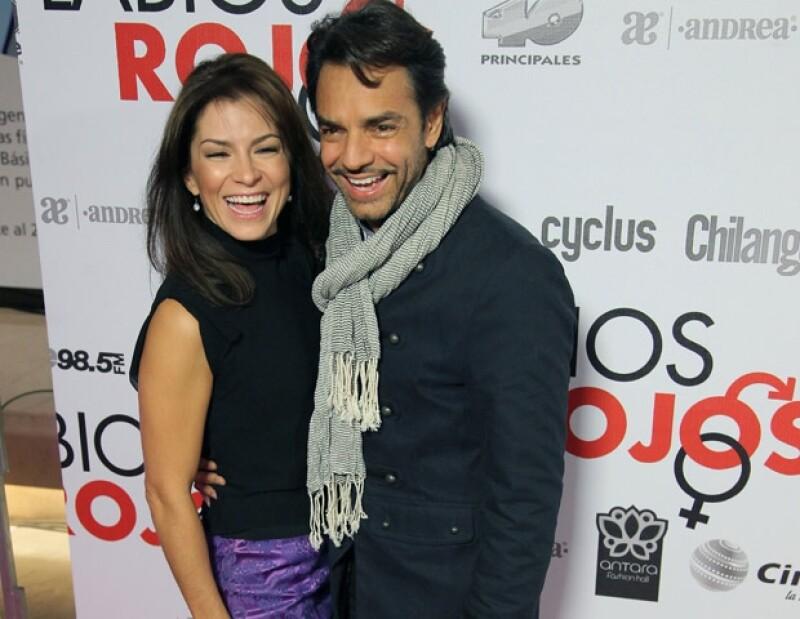 Eugendio Derbez quiere que Alessandra Rosaldo se mude con él a Estados Unidos.