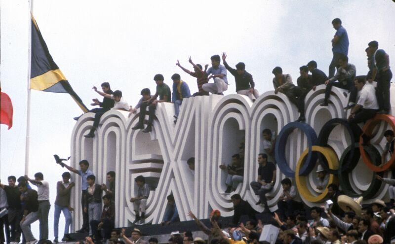 Inauguración México 1968