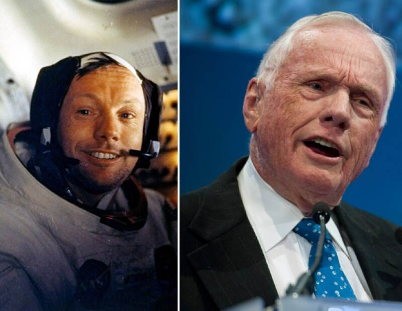 Armstrong comandó la nave espacial Apollo 11 que aterrizó en la Luna el 20 de julio de 1969.