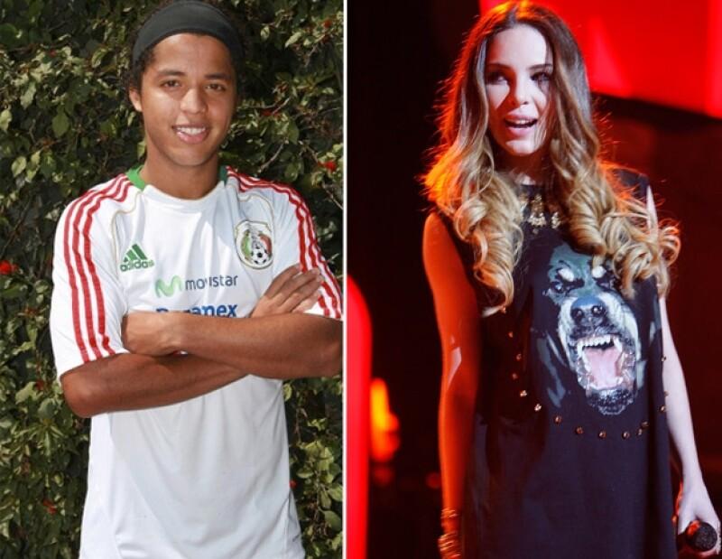 La cantante elogió y felicitó al mediocampista por el gol que anotó durante el partido del domingo entre Mallorca y el Málaga y él le respondió con un mensaje cariñoso.