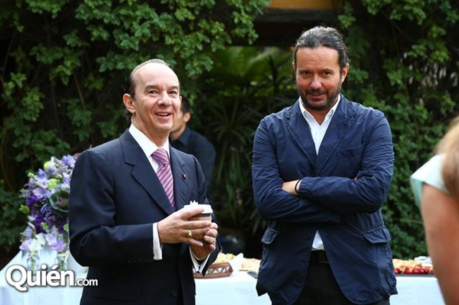 Francisco del Cueto y Eduardo Prieto