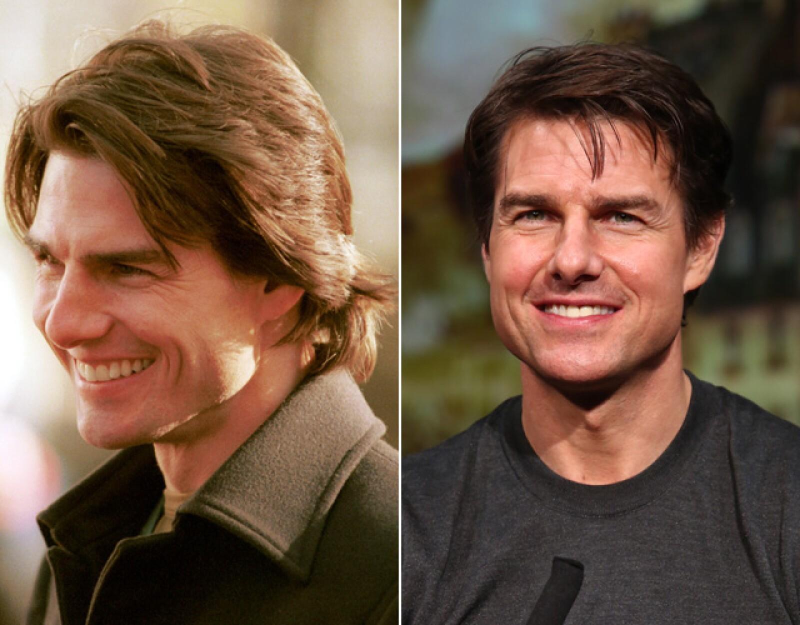 Los genes parecen no traicionar a Tom Cruise, ¡sigue igual de guapo!