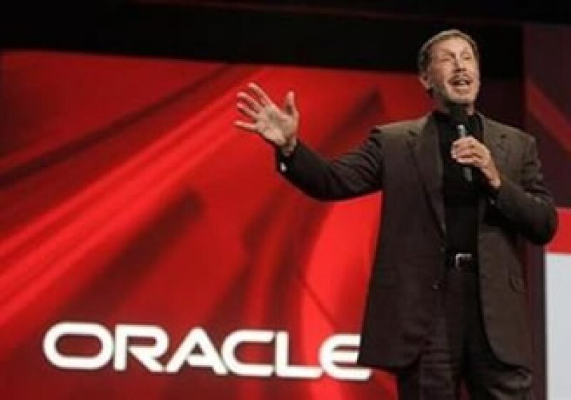 Larry Ellison, director de Oracle, presumió el desempeño de su empresa. (Foto: Reuters)