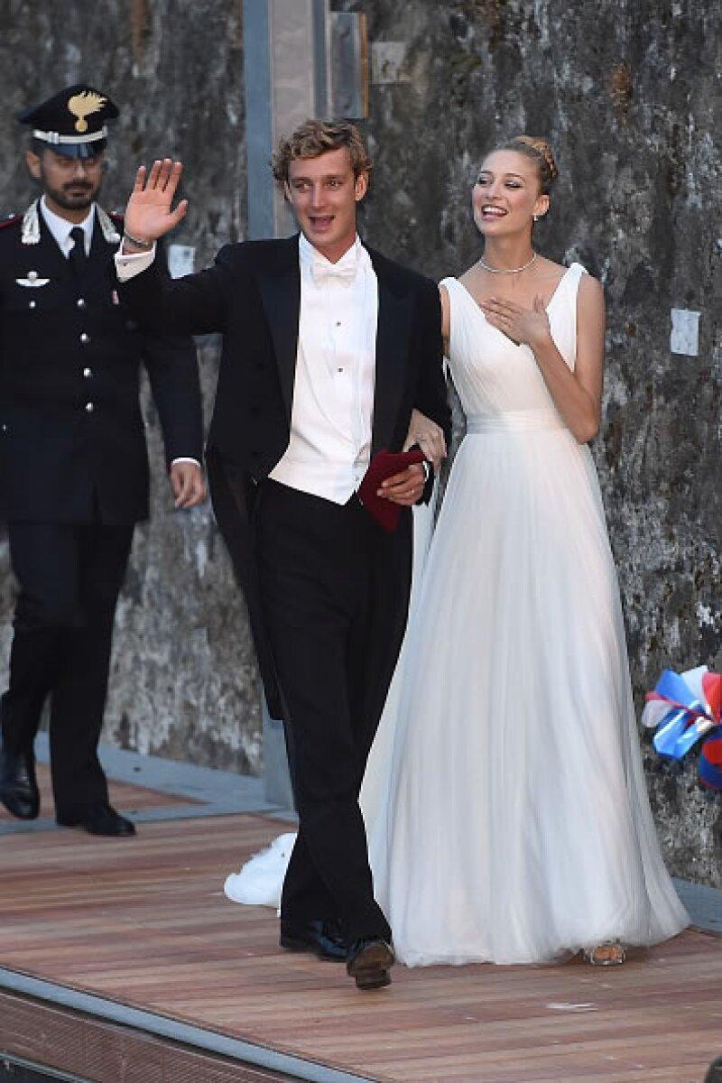 Pierre Casiraghi, hijo de Carolina de Mónaco, se casó en julio con la aristócrata italiana Beatrice Borromeo. Tuvieron dos espectaculares bodas: una en Mónaca y otra más en Italia.