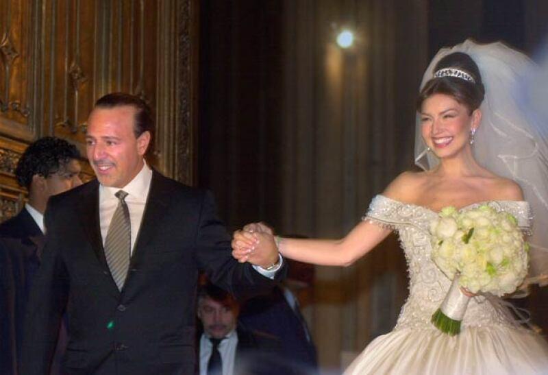 Thalía y Tommy Mottola quedaron flechados desde el momento en el que se conocieron.