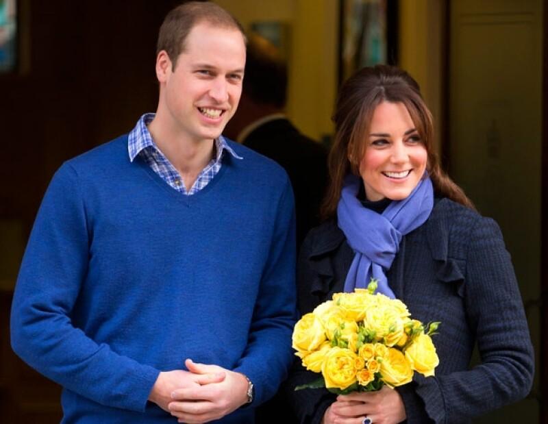 Kate y Guillermo recibirán este año a su primogénito.