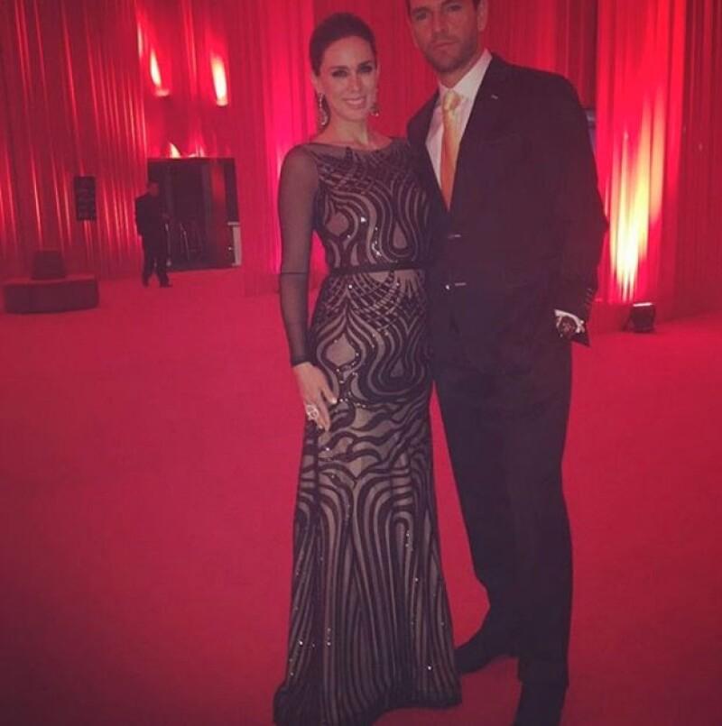 La pareja asistió a la gala Starlite, donde se mostraron felices por la llegada de su tercera hija.