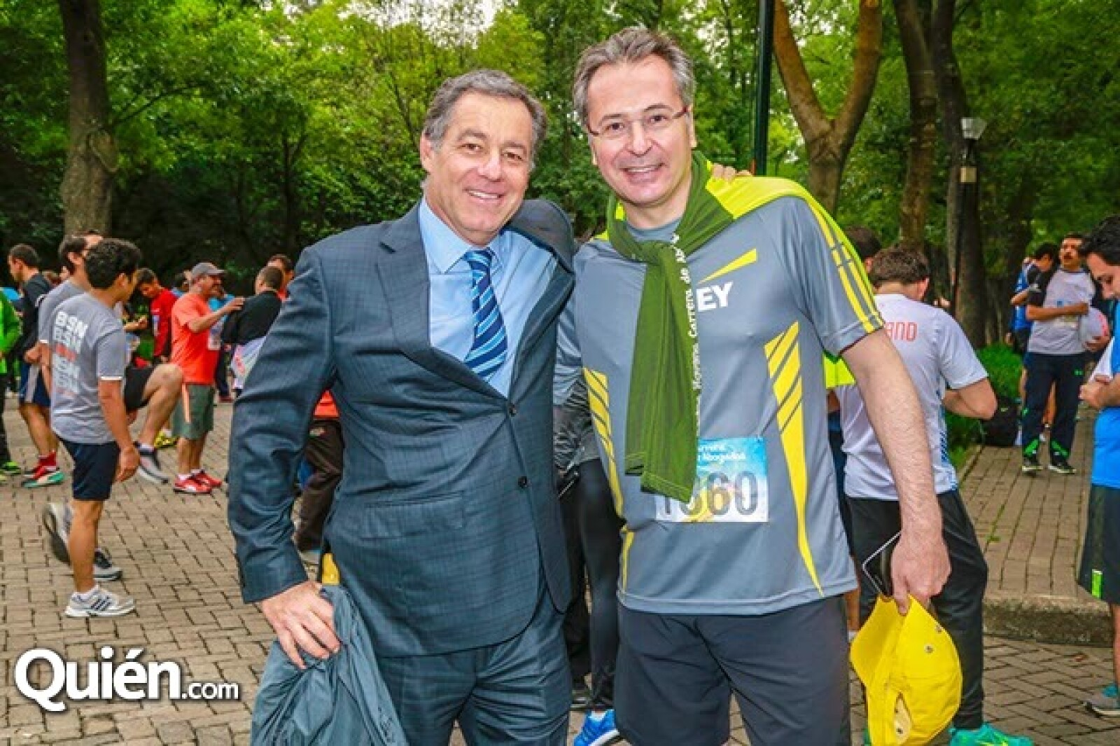 Francisco Firastieri y Alberto López