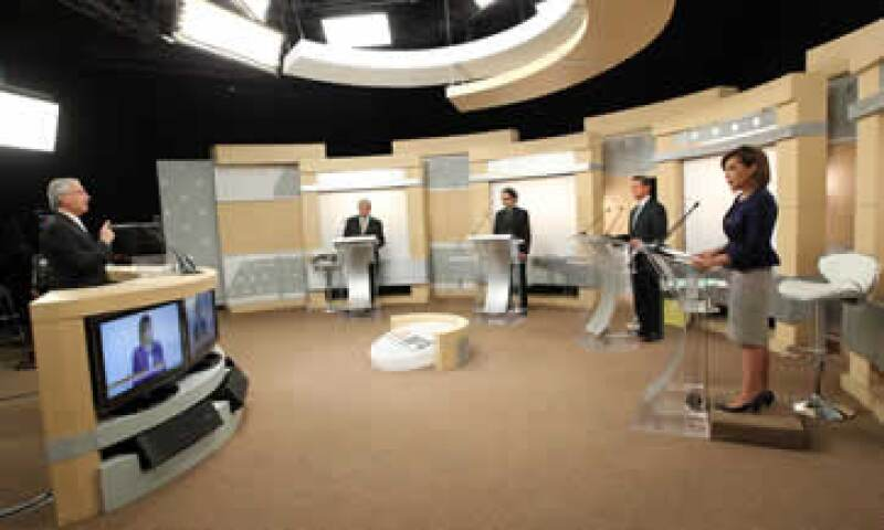 El pasado domingo, los cuatro candidatos protagonizaron el segundo debate presidencial. (Foto: Notimex)