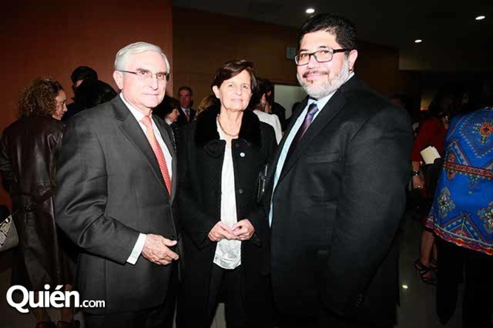 José Ignacio Mariscal,Pilar Mariscal y David Calderón