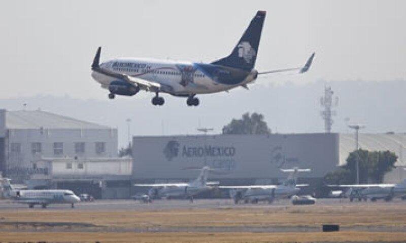 Aeroméxico transportó a 4.8 millones de pasajeros en el trimestre. (Foto: Getty Images/Archivo )
