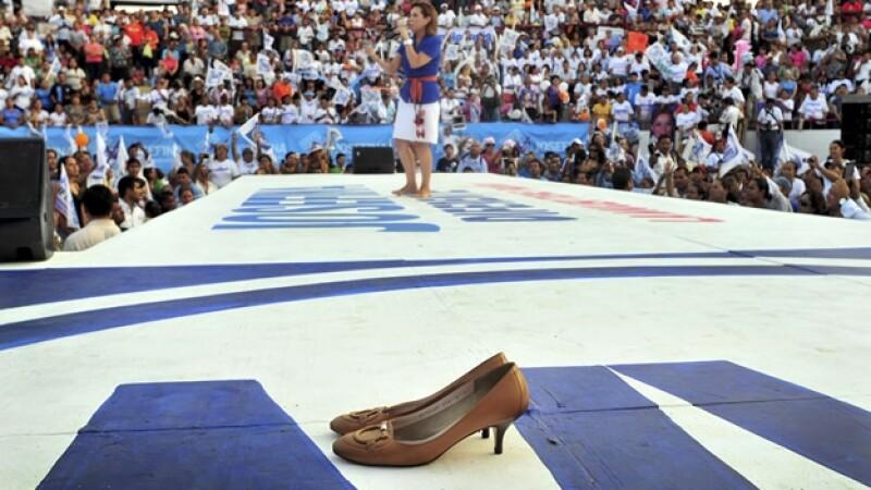 Zapatillas, femenino, voto, elecciones