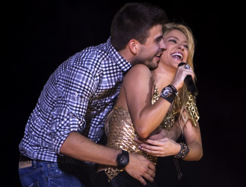 La cantante y el futbolista serán unos auténticos padres de oro con los millones que han ganado.