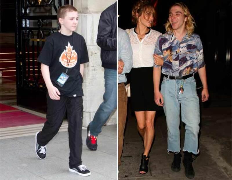 La imagen infantil del segundo hijo de Madonna ya es cosa del pasado. Ahora luce un estilo fiel a la década de los 80 que hizo famosa a su madre.