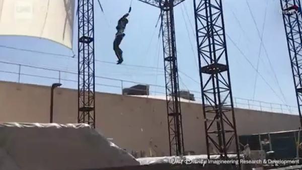 Disney presenta sus nuevos robots Stuntronics
