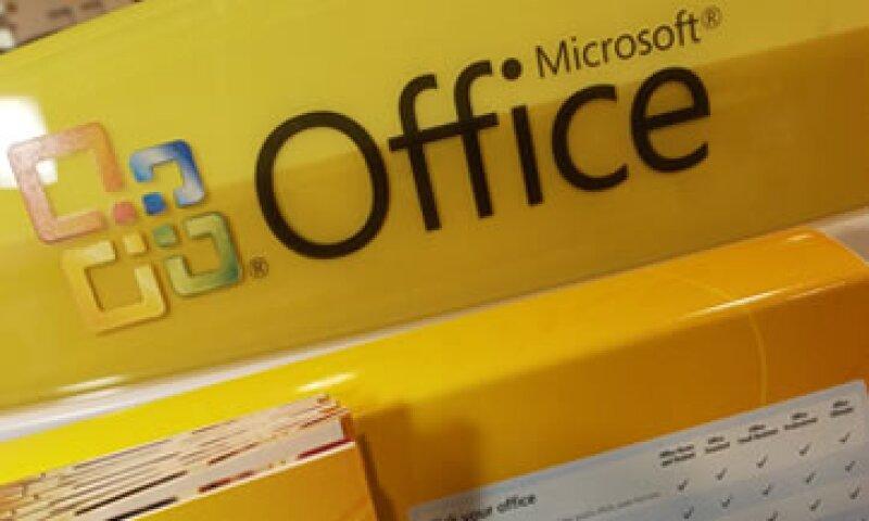 La unidad Office de Microsoft ganó 3,000 mdd tan sólo el trimestre pasado. (Foto: AP)