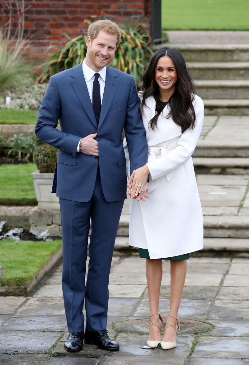 Compromiso de Meghan Markle y el príncipe Harry