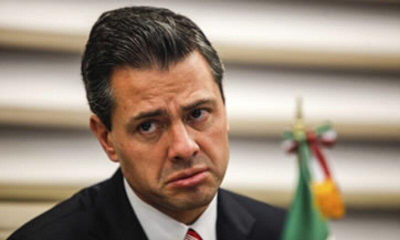 El presidente de México, Enrique Peña, ha tomado medidas populistas y tiene a México en una etapa de bajo crecimiento. (Foto: Getty Images)