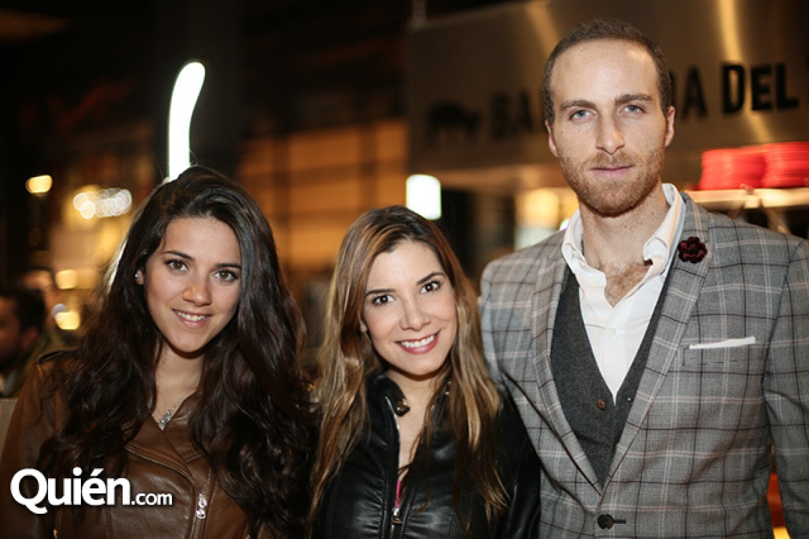 Ivonne González, Andrea Portugal y Salomón Sacal