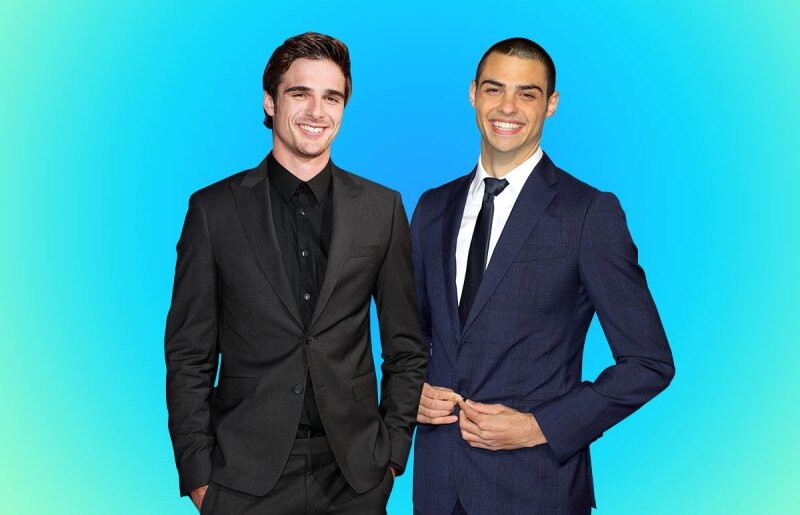 Noah Centineo y Jacob Elordi