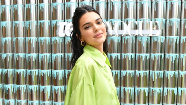 "Kendall Jenner Joins Proactiv And Teen Vogue At ""Paint Positivity: Because Words Matter"" Event In NYC On June 20th"