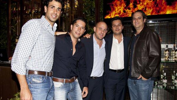 Moisés Isón, Álvaro Jenkin, Jack Sourasky, Benito Galguera, Rubén Siano.