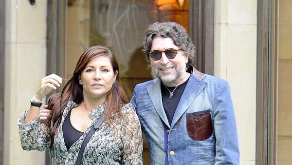 Jose Tomas and Joaquin Sabina Sighting In Madrid - September 25, 2012