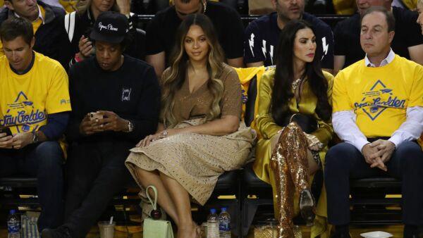 Beyoncé y Nicole Curran