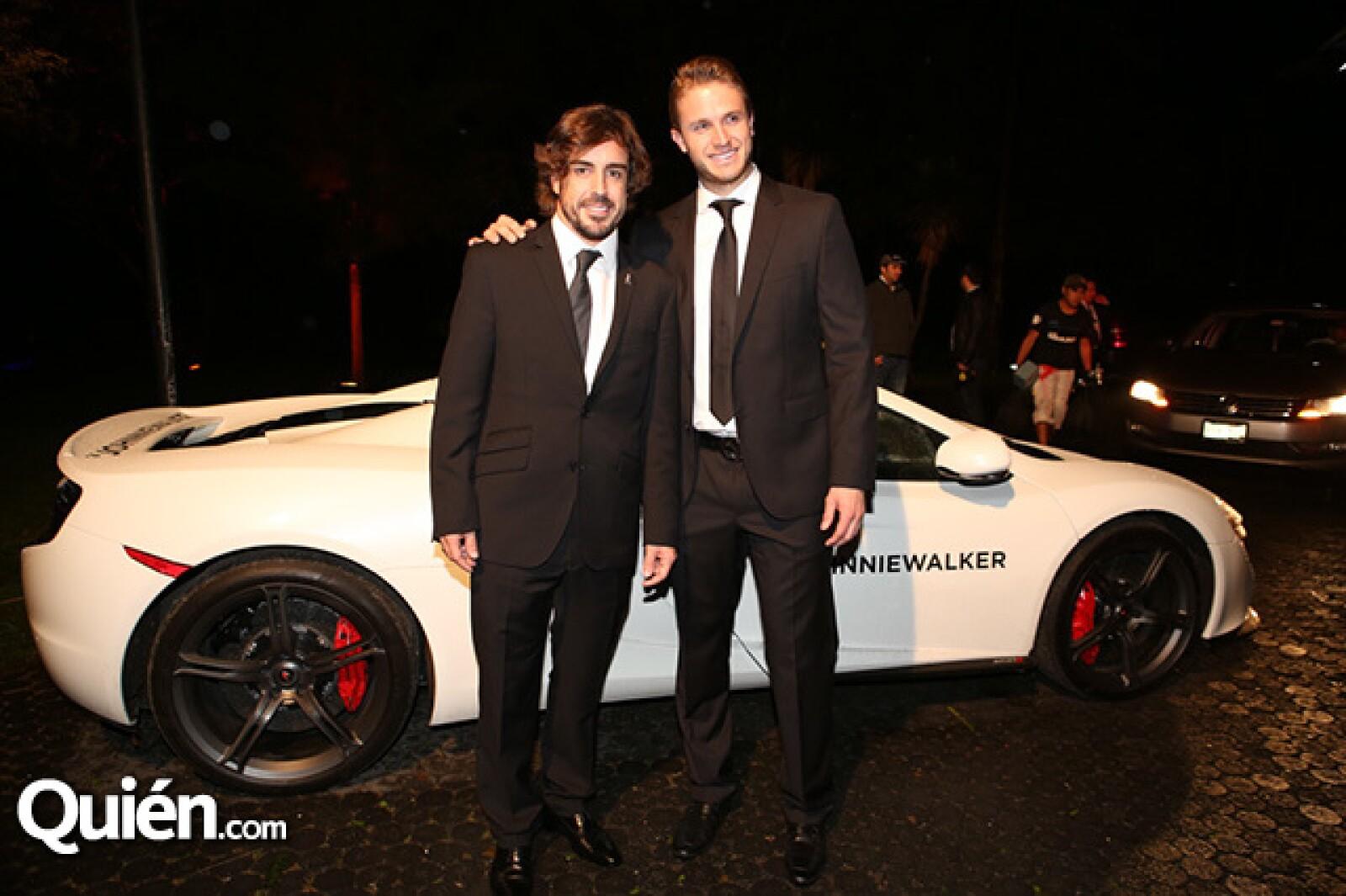 Fernando Alonso y José Manuel Herrera