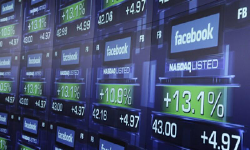 El volumen de transacciones de Facebook estableció un nuevo récord para el debut de una empresa en Estados Unidos. (Foto: AP)