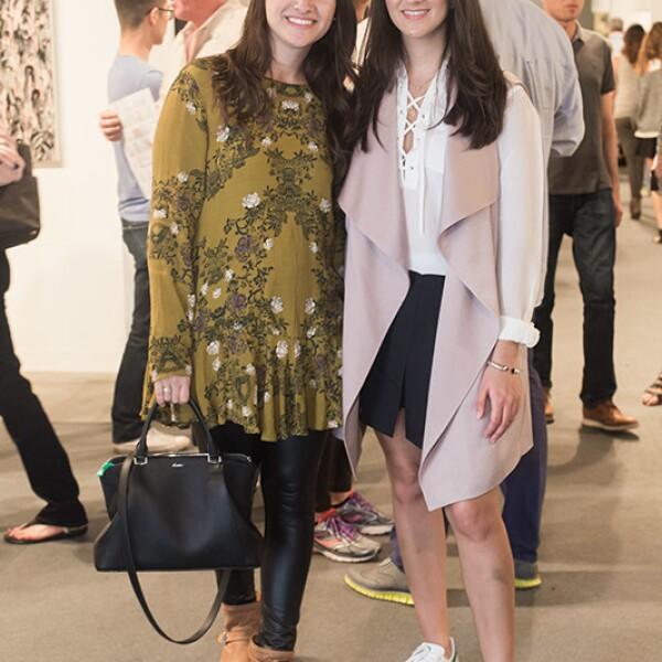 Cecilia Aguilar y Adriana Castillo