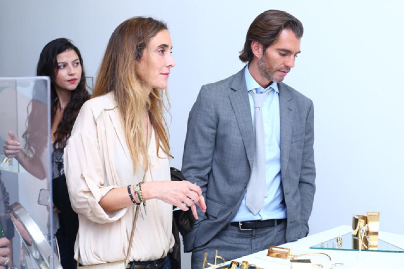 Ana Zesati y Raul Martínez Ostos