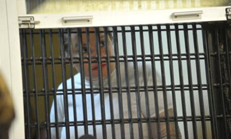 La maestra fue detenida tras descubrirse presuntos desvíos de 2,600 millones de pesos. (Foto: Notimex)