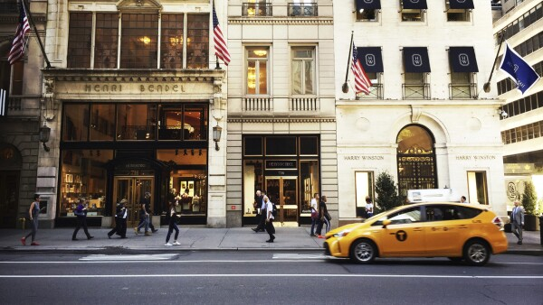 Henri Bendel and Harry Winston Stores in Manhattan