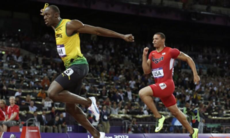 Durante la final 4x100 masculino se produjeron al menos 52,000 tuits por minuto. (Foto: AP)