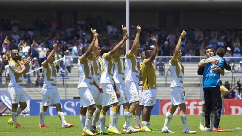 Los Pumas de la UNAM lograron un triunfo importante que los amarró a la liguilla de la Liga Mx