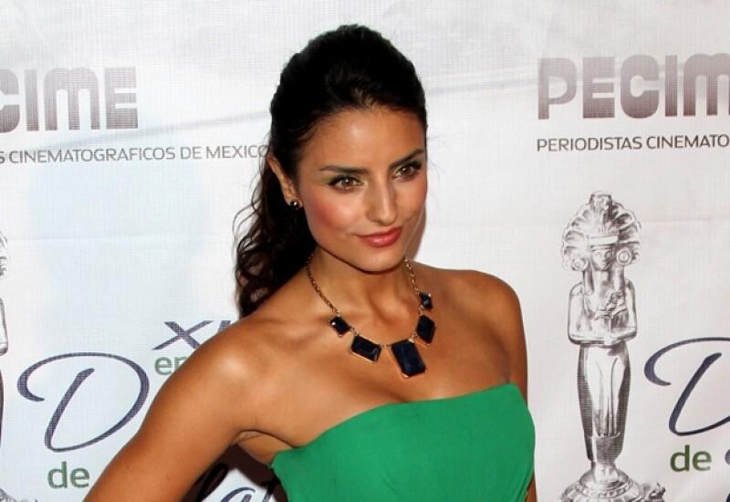 La actriz es una de las niñas más guapas de la revista Quién.