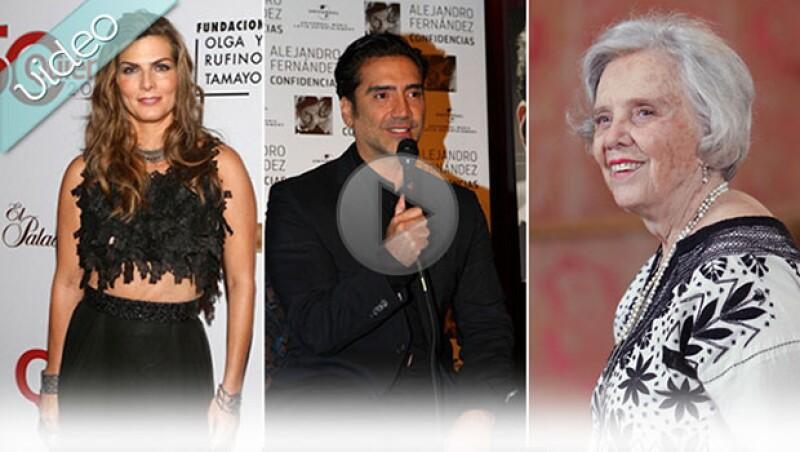 Checa las entrevistas más destacadas del 2014 con personajes como Montserrat Oliver, Alejandro Fernández y Elena Poniatowska.
