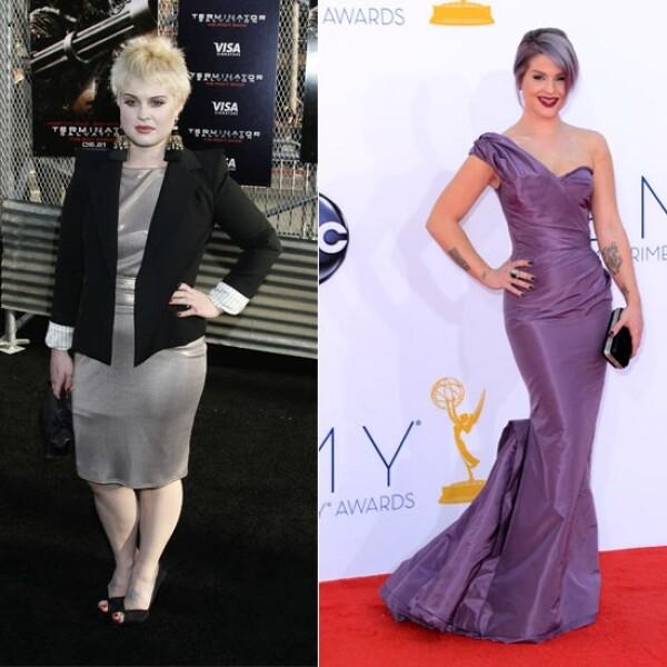 Kelly Osbourne es otra de las celebridades que ha cambiado radicalmente su imagen perdiendo peso y con un estilo totalmente diferente desde 2008 a la actualidad.